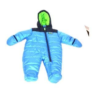 NWOT Carter's 6 -9 months blue snowsuit
